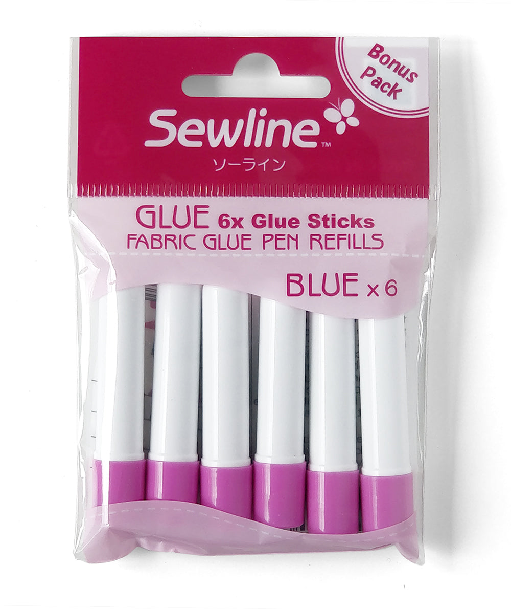 Sewline Fabric Glue Pen Refills Multipack duckeggthreads.co.uk