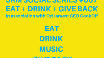 Symphonia Fine Wines Partners with JRM Social Series #007 - Eat, Drink & Give Back