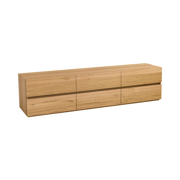 Box Low 6 Drawer Chest by Mark Tuckey