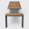 Nori Slatted Outdoor Table by Kristalia