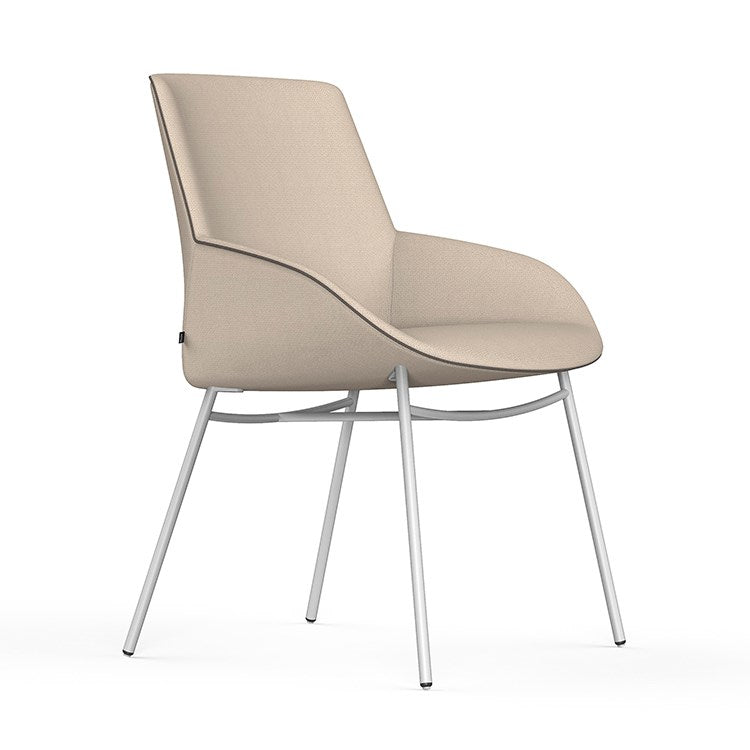 Noom Series 30 Chair with Metal Base by Actiu