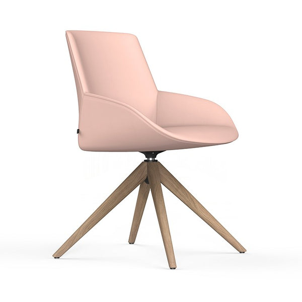 Noom Series 30 Chair with Pyramid Base by Actiu