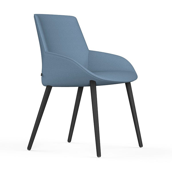 Noom Series 30 Chair with Timber Base by Actiu