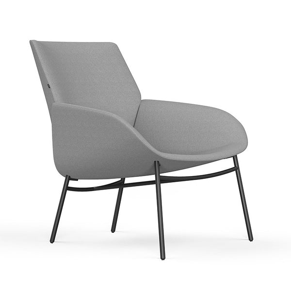 Noom Series 10 Lounge with Metal Base by Actiu