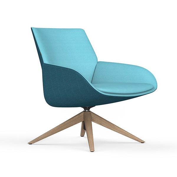 Noom Series 10 Lounge with Swivel Base by Actiu