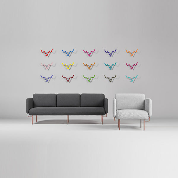 ALCE Two Seater Sofa by Missana