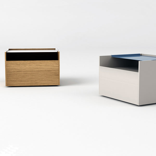 Indigo Bedside Unit by Arlex