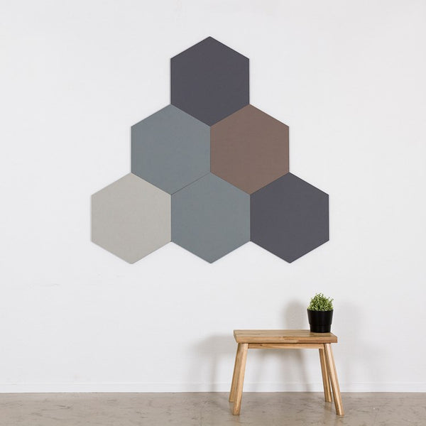 Chameleon Six Square Pinning Shapes by Smit Visuals