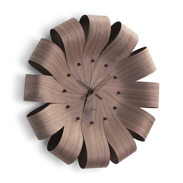 Ciclo Walnut Wall Clock by Nomon