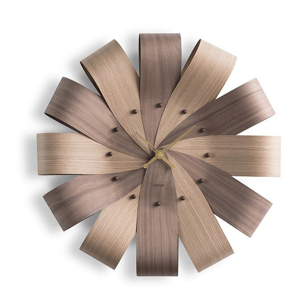 Ciclo Mixto Wall Clock by Nomon
