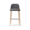 Da Vinci Low Back Stool by Torre