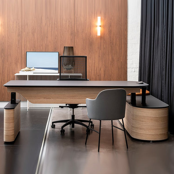 DuO Sit to Stand Executive Desk by 31 Degrees