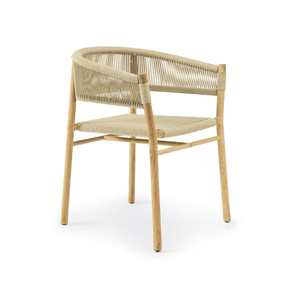 Kilt Dining Armchair by Ethimo