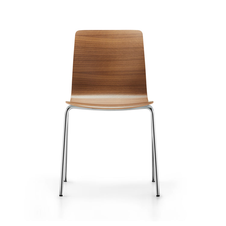 Fiore 4 Leg Metal Chair by Dauphin