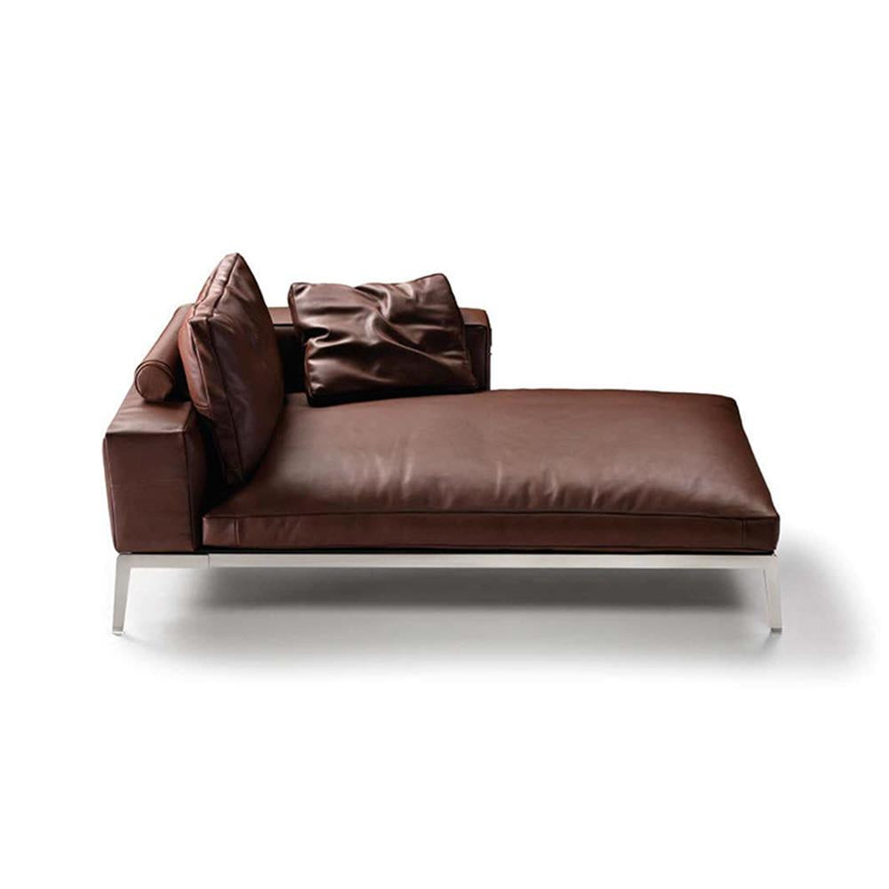 Lifesteel Chaise by Flexform