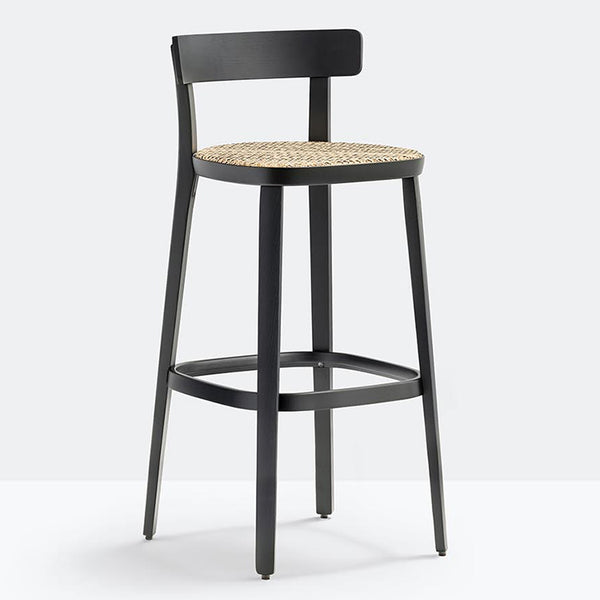 Folk Cane Stool by Pedrali