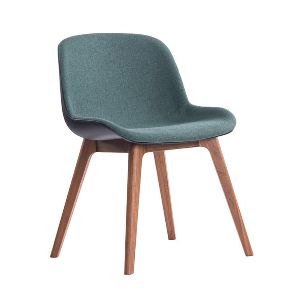 Fortona 4 Leg Timber Chair by Innerspace