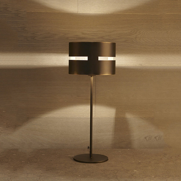 Luz Oculta Metal Table Lamp by Fambuena