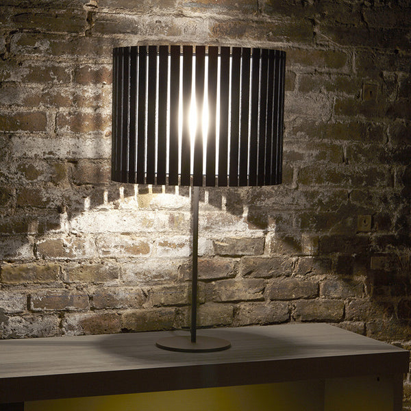 Luz Oculta Wood Table Lamp by Fambuena