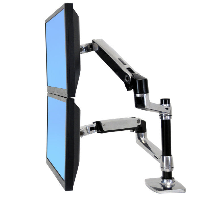 LX Dual Stacking Arm by Ergotron - Innerspace - 1
