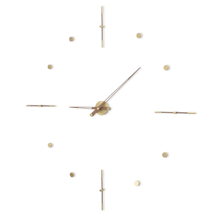 Mixto G Wall Clock by Nomon - Innerspace