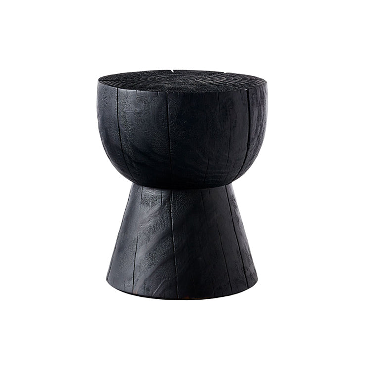Egg Cup Scorched Stool by Mark Tuckey
