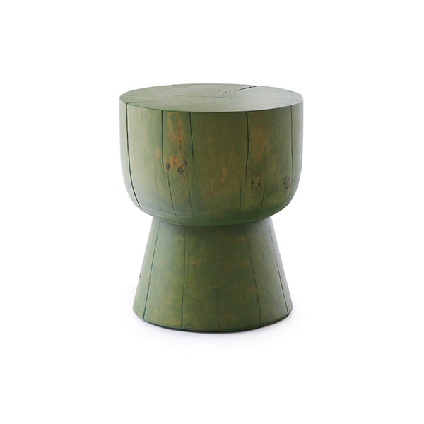 Egg Cup Stained Stool by Mark Tuckey