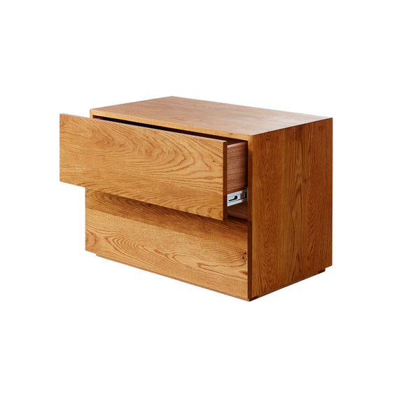 Box 2 Drawer Bedside by Mark Tuckey