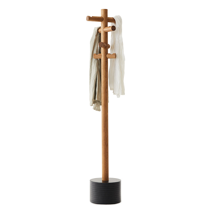 Pole Coat Stand by Mark Tuckey