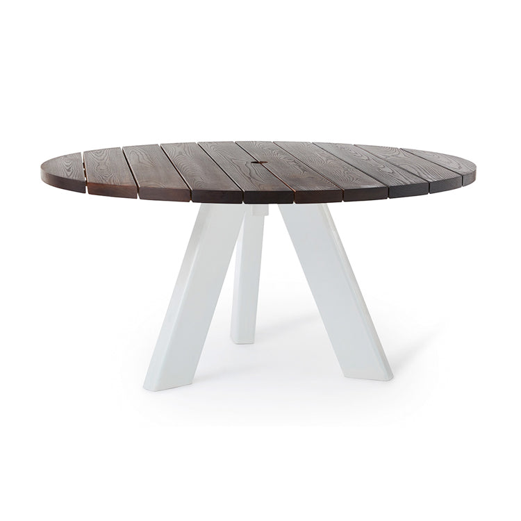 Tripod Outdoor Table by Mark Tuckey