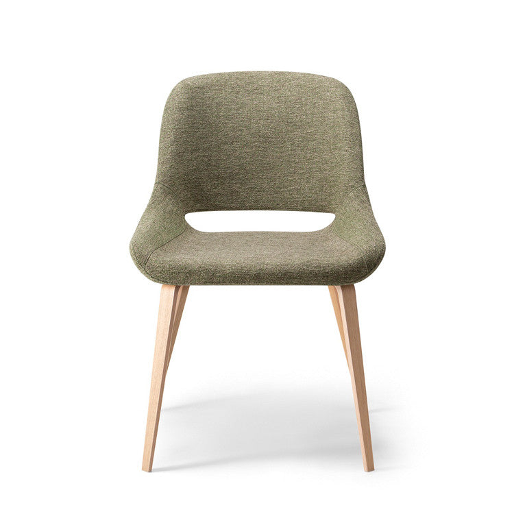 Magda 01 Timber leg Chair by Torre - Innerspace - 1