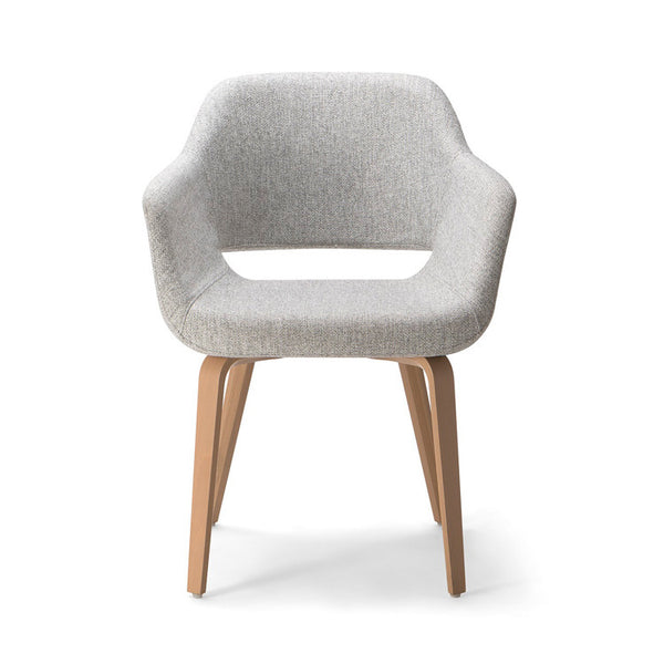 Magda 04 Timber leg Armchair by Torre - Innerspace - 1
