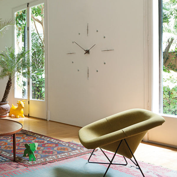 Mixto N Wall Clock by Nomon - Innerspace - 1