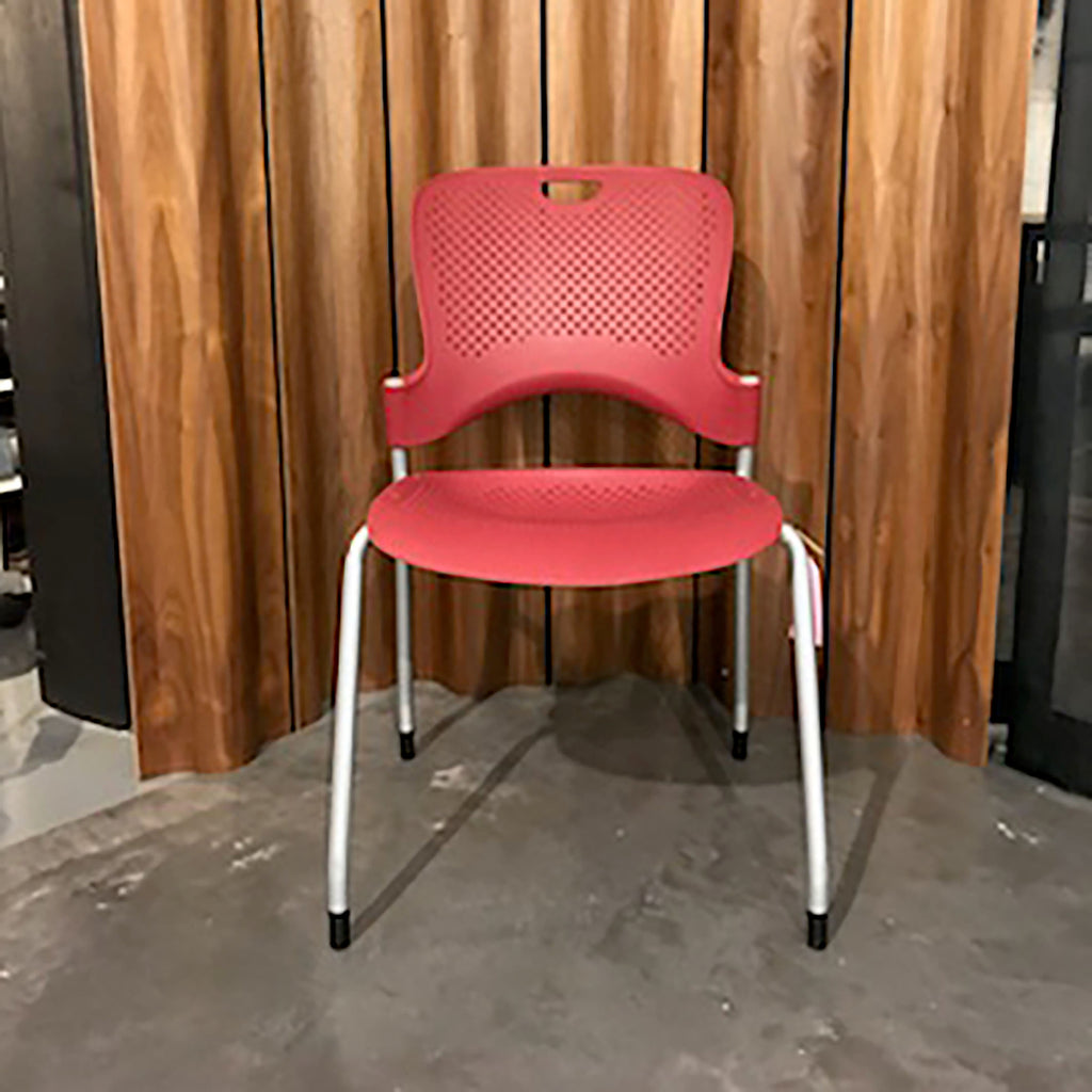 Caper Stacking Chair by Herman Miller - Red