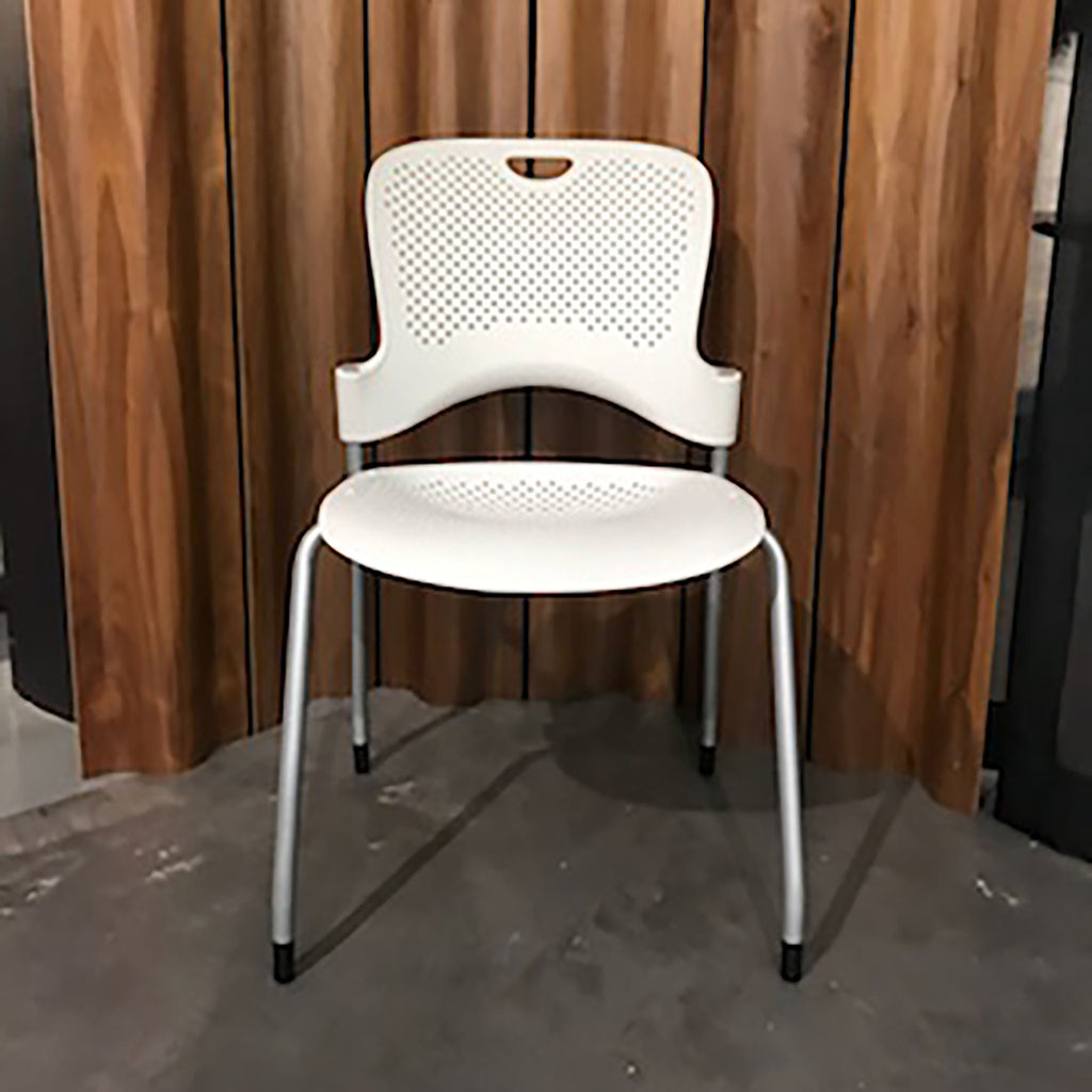 Caper Stacking Chair by Herman Miller - White