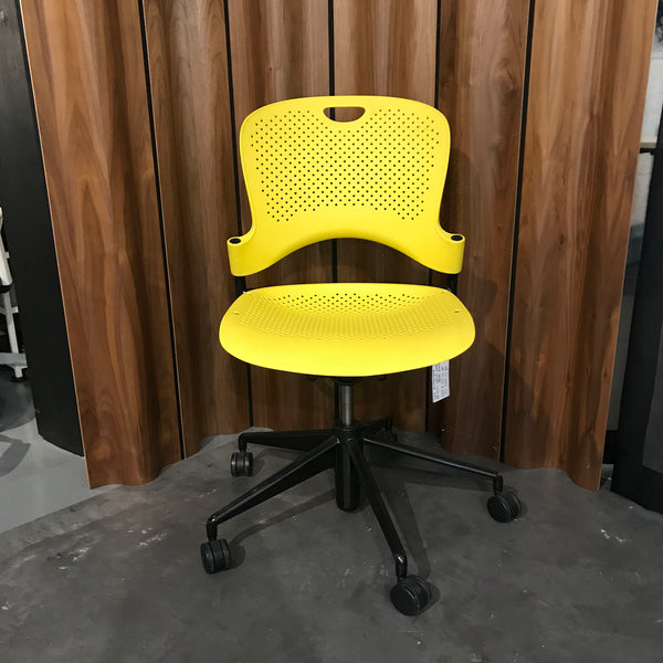 Caper Multipurpose Chair by Herman Miller - Lemon