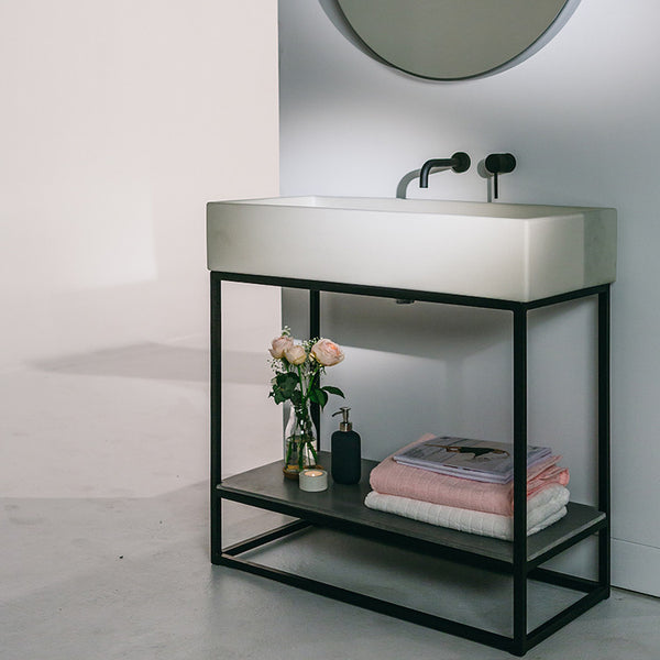 The Trough Sink Vanity Set by Nood Co