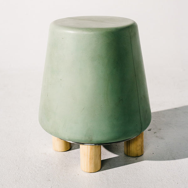 Kevin Stool Oak by Nood Co