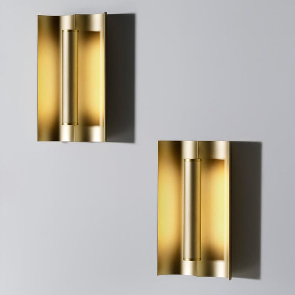 Typography - Cilon Rib Wall Sconce by Rakumba