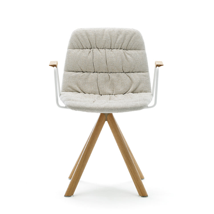 Maarten Swivel Chair by Viccarbe