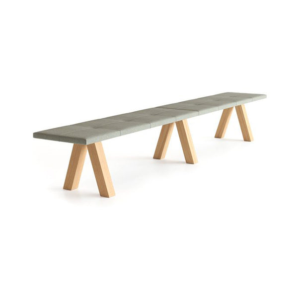 Trestle Bench by Viccarbe