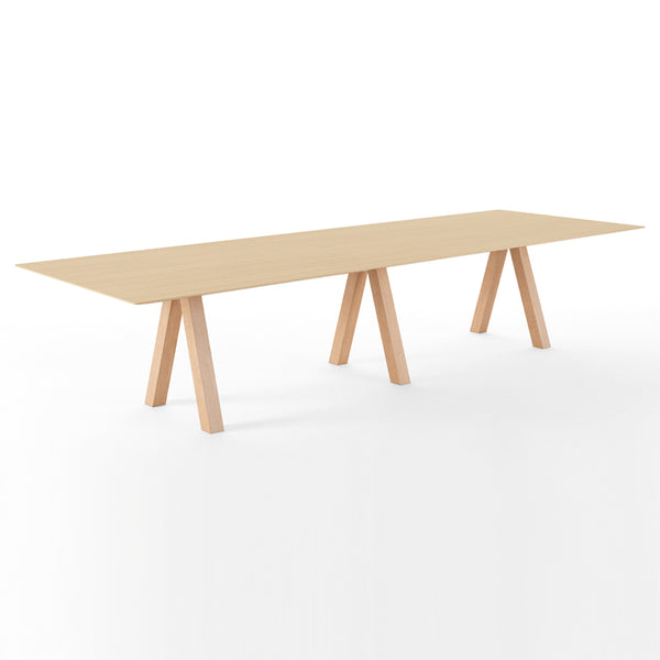 Trestle Table by Viccarbe