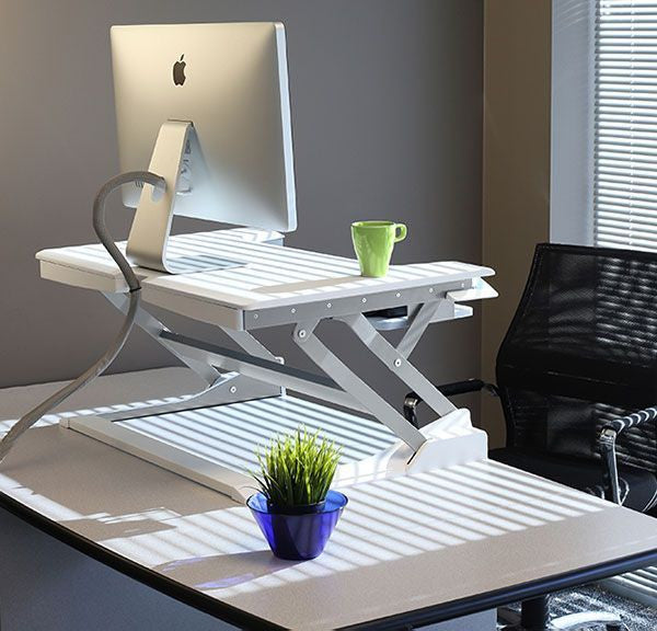 WorkFit-TL Sit-Stand Desktop Workstation by Ergotron - Innerspace - 1