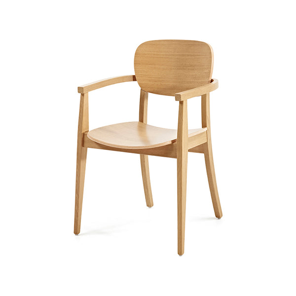 Cup Cup Chair with arms by Z-Editions