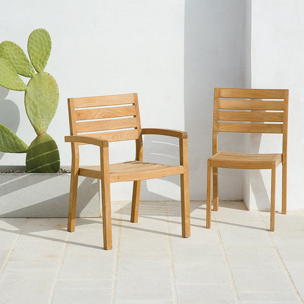 Ambra Stackable Chair by Ethimo - Innerspace - 1