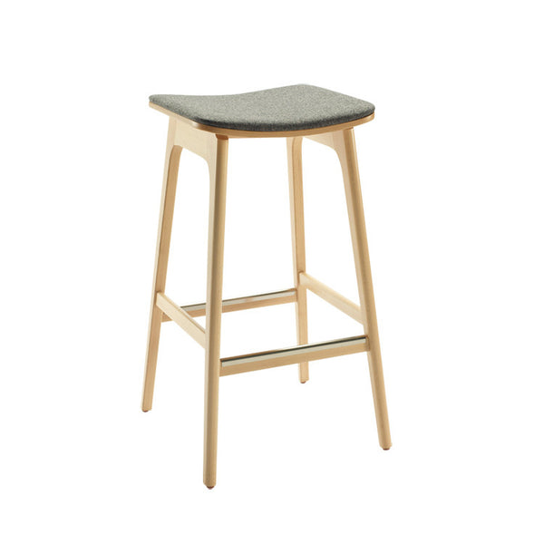 Anna Stool with Low Back by Innerspace