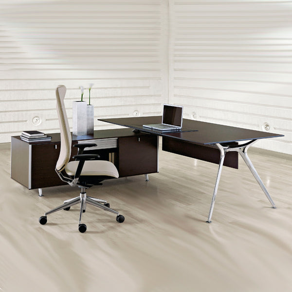 Arkitek Executive Desk with integrated storage by Actiu - Innerspace - 1