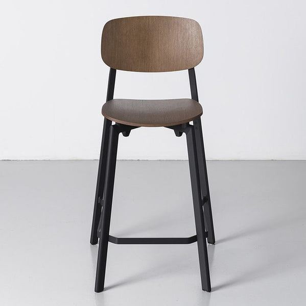 Colander Wood Stool by Kristalia