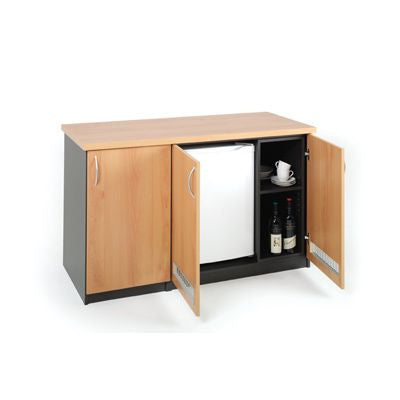Linea Fridge Credenza by Innerspace - Innerspace