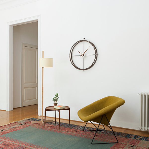 Doble O Wall Clock by Nomon - Innerspace - 1